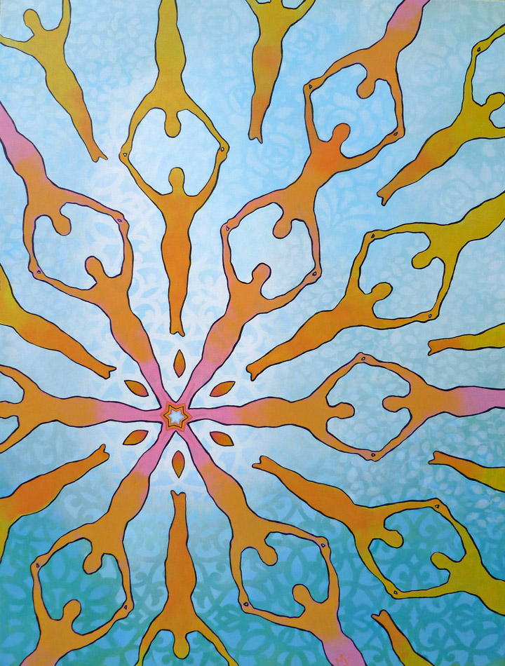 kaleidoscope painting 7