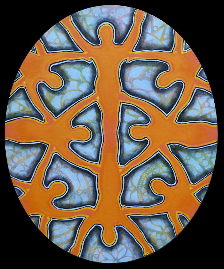 oval kaleidoscope